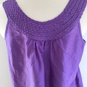 Calypso St. Barth purple silk dress Size XS